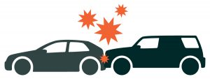 Forward Collision Warning Systems Prevent Auto Accidents Graphic